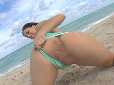 Puncivadászat a strandon