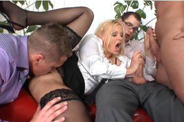 Csoportos szex szexvideók